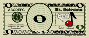 Whole Note Bill