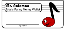 Mr Noteman Money Wallet