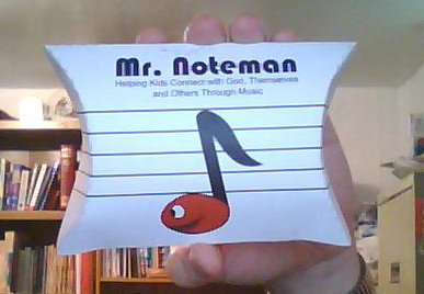 Mr. Noteman Pillow Box