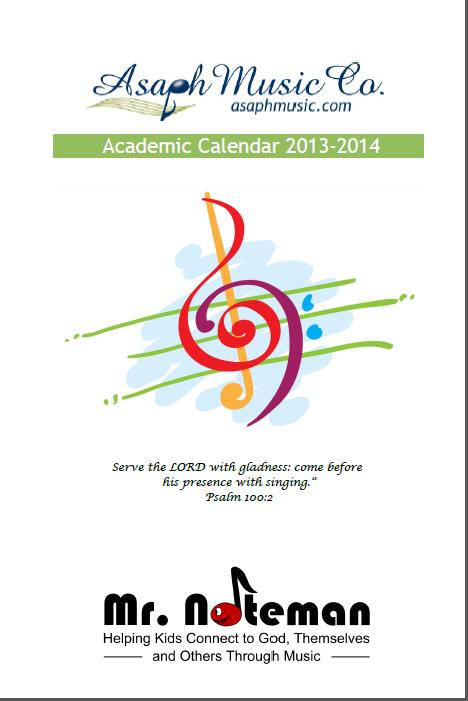 2013-2014 Calendar Cover